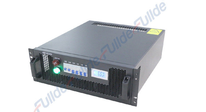 Black Color Portable Dc Load Bank With Reverse Power / Current Protection