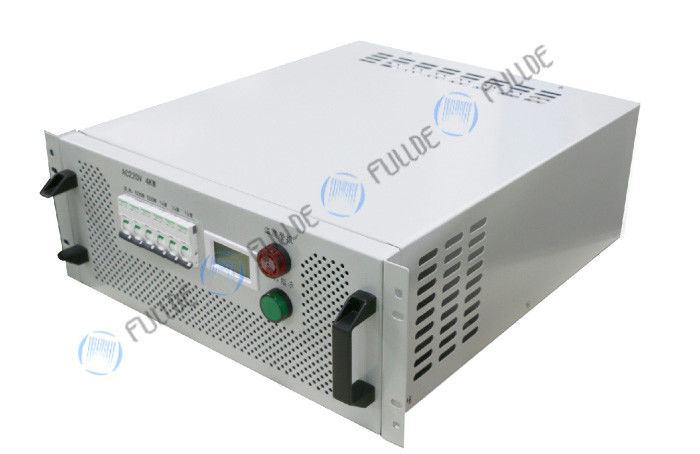 4KW Software Control Portable Load Bank For Data Center Commissioning Testing